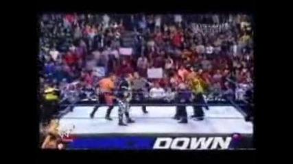 Hardy Boyz & Rvd vs Dudley Boyz & Lance Storm