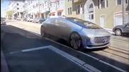 Страхотен Mercedes по улиците на Сан Франциско