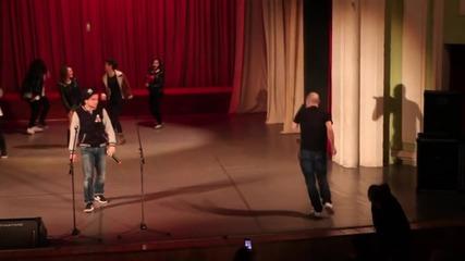 Костадинов a.k.a Тариката - Rapstar & Palen Minus[live]