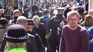 UK: Crowds flood Windsor for Prince Philip's funeral despite pleas for public to 'stay away'