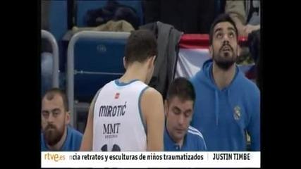 """""""Барселона"""" победи """"Реал"""" (М) със 111:108 в баскетболното """"Ел Класико"""""""