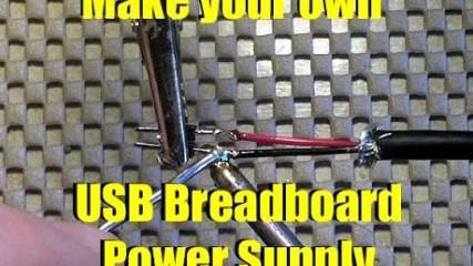DIY breadboard 5V Power Supply