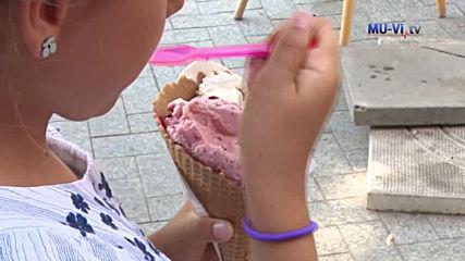 Бактериите в насипния сладолед - мит или реалност?!