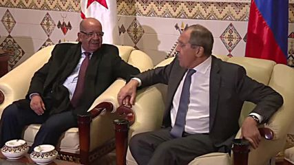 Algeria: Lavrov meets with Algerian FM Messahel in Algiers
