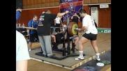 308, 5 кг. - най - голямата щанга опитвана на състезание в Бг