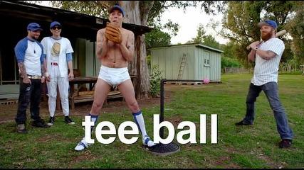 Jackass - Tee ball !!! ;ddd
