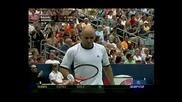 Nadal vs Agassi - Montreal 2005