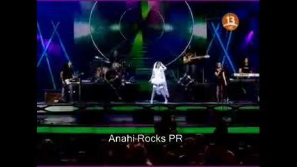 Anahi - El Me Mintio live [festival de Vina del Mar]