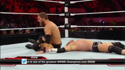 Dolph Ziggler vs. Curtis Axel - Raw, 30 декември