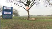 Netherlands: Anti-refugee banners hung on roads outside Heesch
