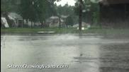 Пороен дъжд в Карбондейл , Илинойс 23.7.2014