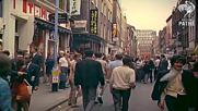 London 1967 - Street Scenes added sound w color remaster