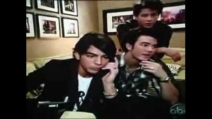 Jonas Brothers Phone Call Prank On Jimmy K