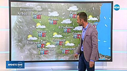 Прогноза за времето (19.11.2019 - обедна емисия)