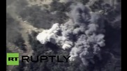 Syria: Russian airstrikes destroy ammo dump near Latakia