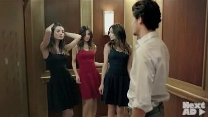 Красиво момиче в асансьора-ти какво ще направиш?