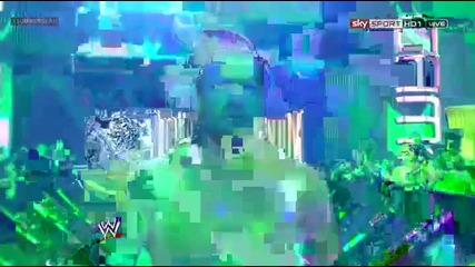 Wwe Summerslam 2012 Triple H Vs Brock Lesnar