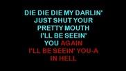 Metallica - Die, Die My Darling Karaoke