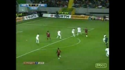 Cristiano Ronaldo Vs Belgium - Fourth Goal