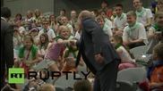 Русия: Най-добрите моменти на Путин за 2015год. на 63-ят му рожден ден