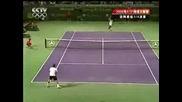 Miami 2008 : Федерер - Родик | последни 2 гейма
