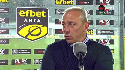Илиан Илиев: От резултата съм доволен, но от играта не