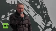Ukraine: Svoboda and Right Sector supporters celebrate founding of the UPA