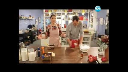 Запечени картофи, печена скумрия, цитрусова салата, шоколадов мус - Бон апети (10.01.2014г.)