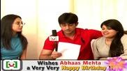 Abhaas Mehta Celebrated Birthday with Telly Tadka