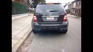 Много луд звук от Mercedes Ml 63 Amg