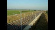 Най - Бързият Влак На Света - 553км/h
