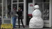 Зловещият снежен човек се завърна - Хелоин 2015г.