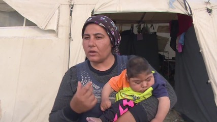 Greece: Mother of sick baby explains Idomeni camp risks