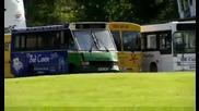 Състезание с Автобуси - Top Gear