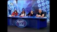 Music Idol 2 - Радост Жабова - Ода За Химията (Високо Качество)