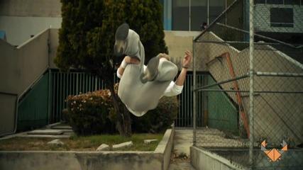 Ryan Doyle - Паркур в забавен кадър [ H D 1080p ]