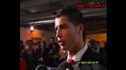 Cristiano Ronaldo Interview - 03.04.08