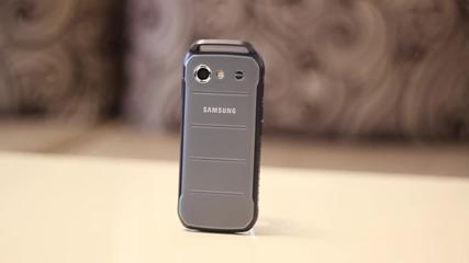 Samsung B550 Xcover 3 Видео ревю - SVZMobile