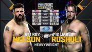 Roy Nelson vs Jared Rosholt (ufc Fight Night 82, 06.02.2016)
