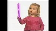 Сладката Mia Telerico рекламира Disney Channel