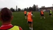 Ботев Ихтиман тренира с настроение преди края на сезона