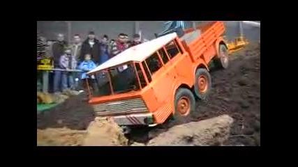 6x6 Ето Това е Машина Tatra Offroad