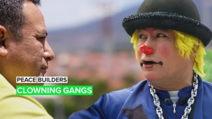 Peace Builders: Fighting gangs with clowning
