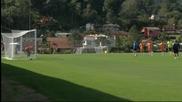 Бразилия се подготвя за мача с Мексико