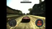 NFS-most wanted безрасъдно шофиране!!!!!!!