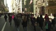 USA: Thousands of New Yorkers march against Trump on fourth day of protests