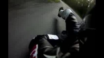 Street Luge Crash