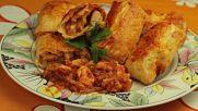 Вкусни царски банички с пилешко
