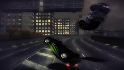 a stunt video - gravity