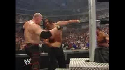 Batista & Kane Правят Задушавашто Тръшване на великия Khali